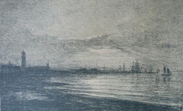 Idbury Prints: An online gallery of original fine art prints carel nicolaas storm van's gravesande The Decline of the Day
