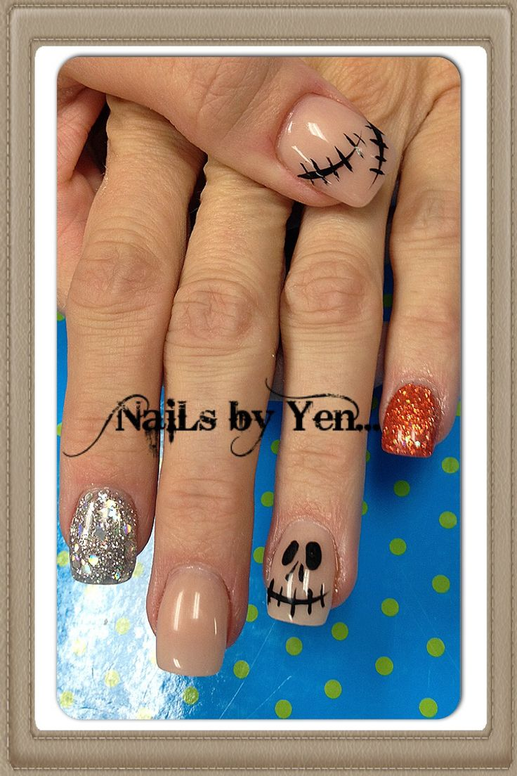 holloween nails ideas
