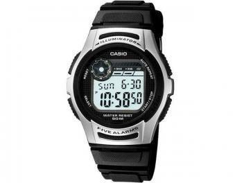 http://tinyical.com/hEU  Relógio Masculino Casio Digital - Resistente à Água Cronógrafo Mundial W-213-1AVDF
