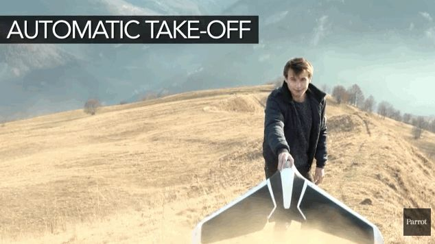 #Parrot's new Disco #drone ditches quadcopter design for a fixed-wing aircraft