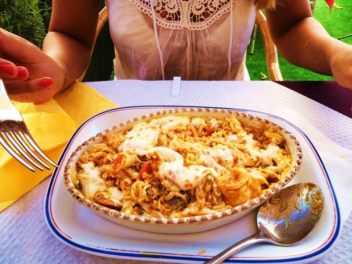 Arroz de marisco, this is a picture of my holiday in Lisboa, I ate this at the coast in Cascais. Seafood Rice is a typical dish from the coast of Portugal. It was delicious!