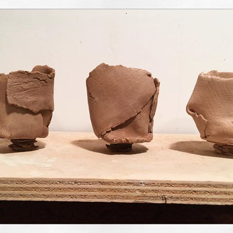Loving the shadows texture feet and attitude these #yunomi cups got going on