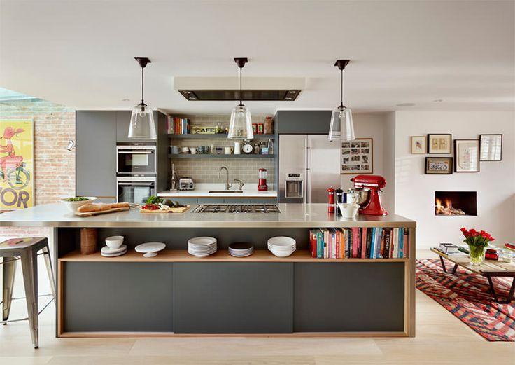 12 armários de cozinha super criativos para você se inspirar - limaonagua
