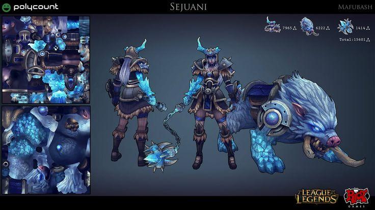 [Riot Art Contest] - Sejuani - Polycount Forum