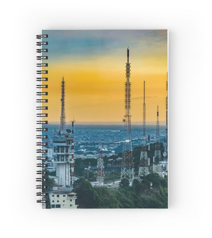 Guayaquil Aerial View Notebook