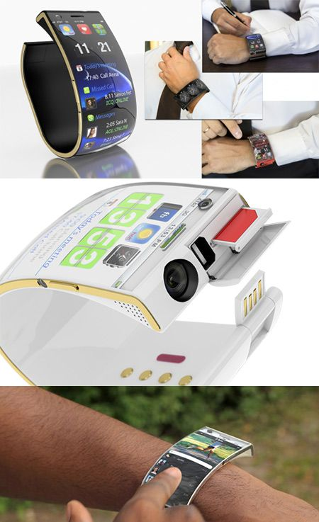 Emopulse Smile SmartWatch Boasts iOS-Like Interface, Flexible OLED Twin-Display