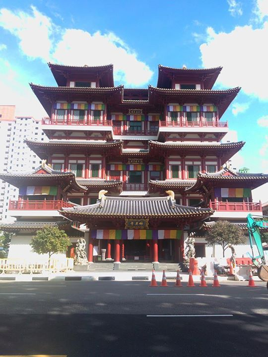 Buddha Tooth Relic Temple and Museum, SG - 2013
