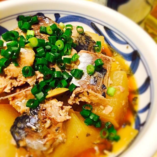 teruyoさん、はじめまして(*^_^*)  鯖の旨味が大根に染みて美味し〜 メインにもなる一品が、家にある材料で、しかも短時間に出来るのが嬉しい❗️ お助けレシピになりそうです  フォローさせてくださいね 宜しくお願いいたします  それから、きっかけになったYumiさん、食べ友よろしくお願いしま〜す - 140件のもぐもぐ - teruyoさんの鯖の水煮缶で鯖大根 by norikoniwakP3