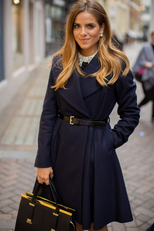 Afternoon Tea & Ted Baker - Gal Meets Glam - Ted Baker Coat, Dress, Bag & Heels c/o, Dior Earrings - LOCATION: LONDON • OCTOBER 8, 2014