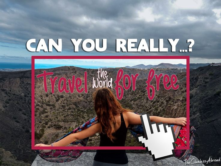 Can you really travel the world for free? You can definitely do a lot on a tight budget, but penniless... we don't think so! // The Clueless Abroad