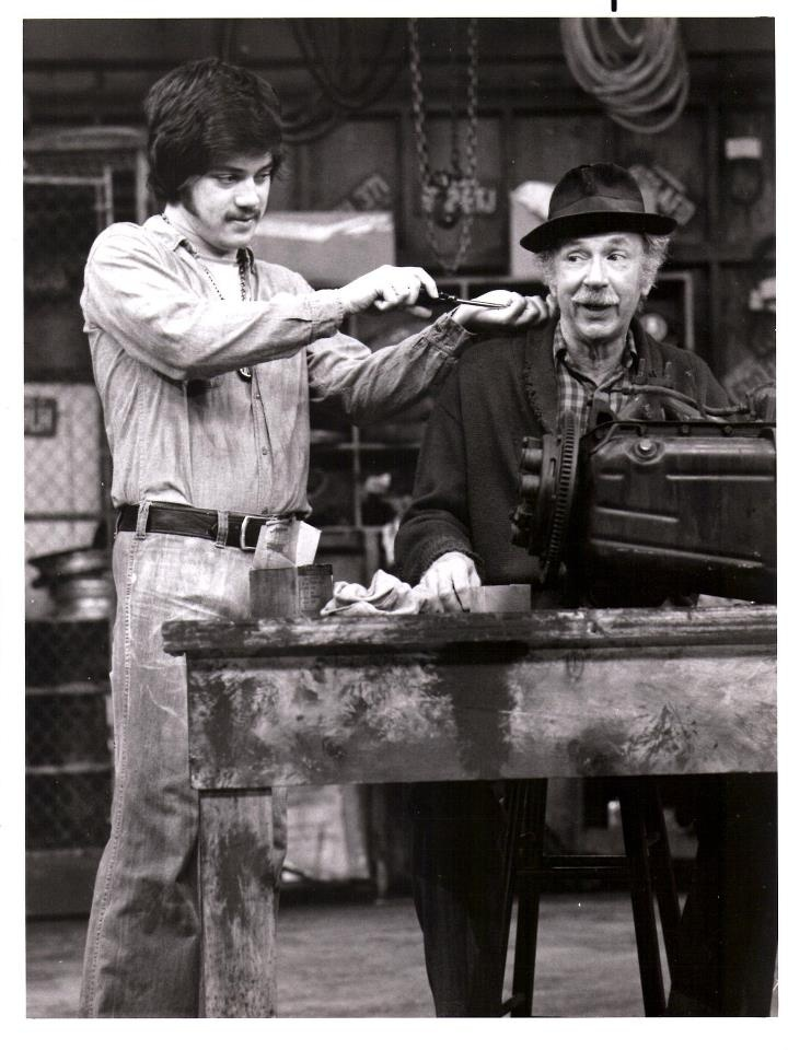 Chico and The Man. Freddie Prinze and Jack Albertson