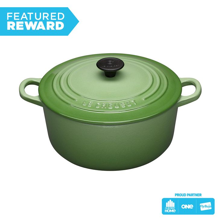 Le Creuset - 24cm Round Casserole #flybuysnz #1860points #OFHNZ