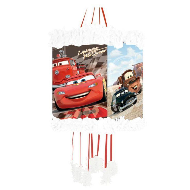 Piñata Viñeta Cars McQueen #fiestacumpleaños #cumpleañosdisney #decoracioncumpleaños