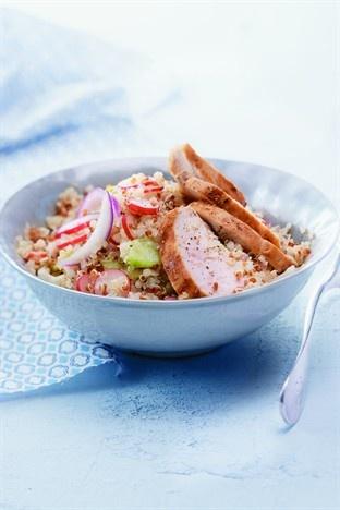 #Salade de #quinoa et blancs de #poulet - Larousse Cuisine