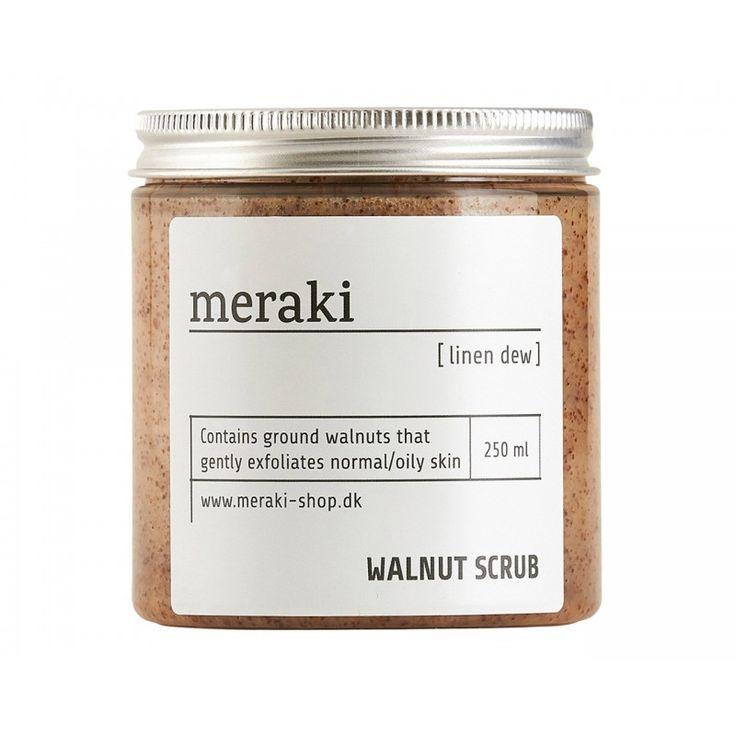 Walnut Scrub - Linen Dew,  250 ml