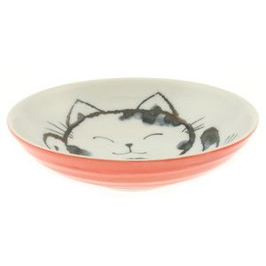 "Cat Plate 7.25"" Pink Set Of 2, $18, now featured on Fab."
