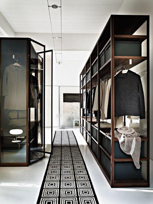 35 Masculine Closets & DressingRooms - Style Estate -