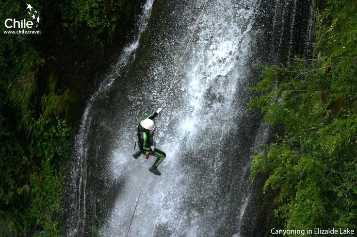 Canyoning in Elizalde Lake, #Chile