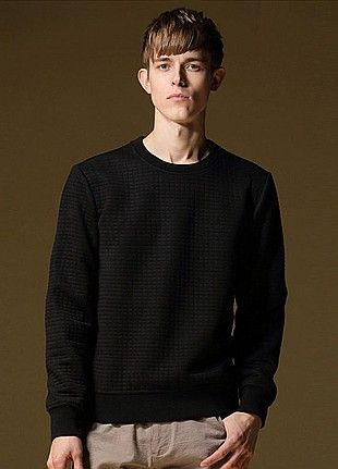 Allin Menswear Sweater-Black
