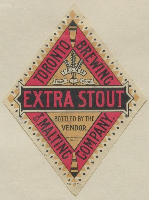 Extra Stout by Thomas Fisher Rare Book Library, via FlickrCovers Book, Rare Book, Graphics Design, Fisher Rare, Beer Labels, Extra Stout, Book Covers, Thomas Fisher, Book Libraries