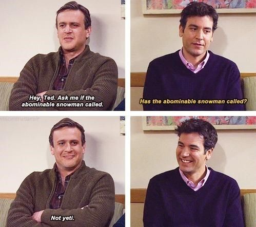 Marshall and Ted
