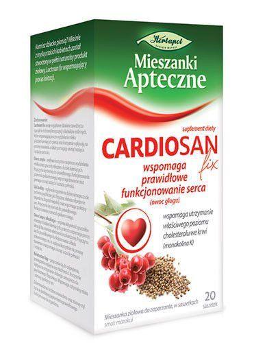 CARDIOSAN herbs fix x 20 sachets, cardiovascular system, circulatory system, ischemic heart disease