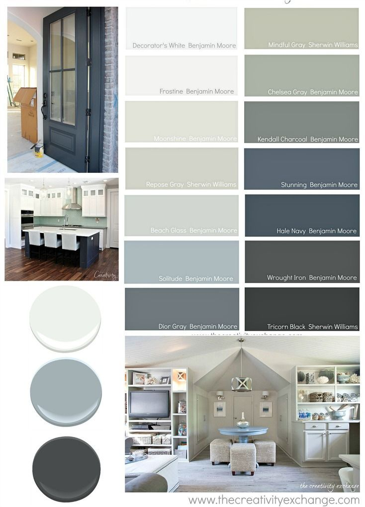 Versatile paint colors that consistently work well in different lighting situations. The Creativity Exchange
