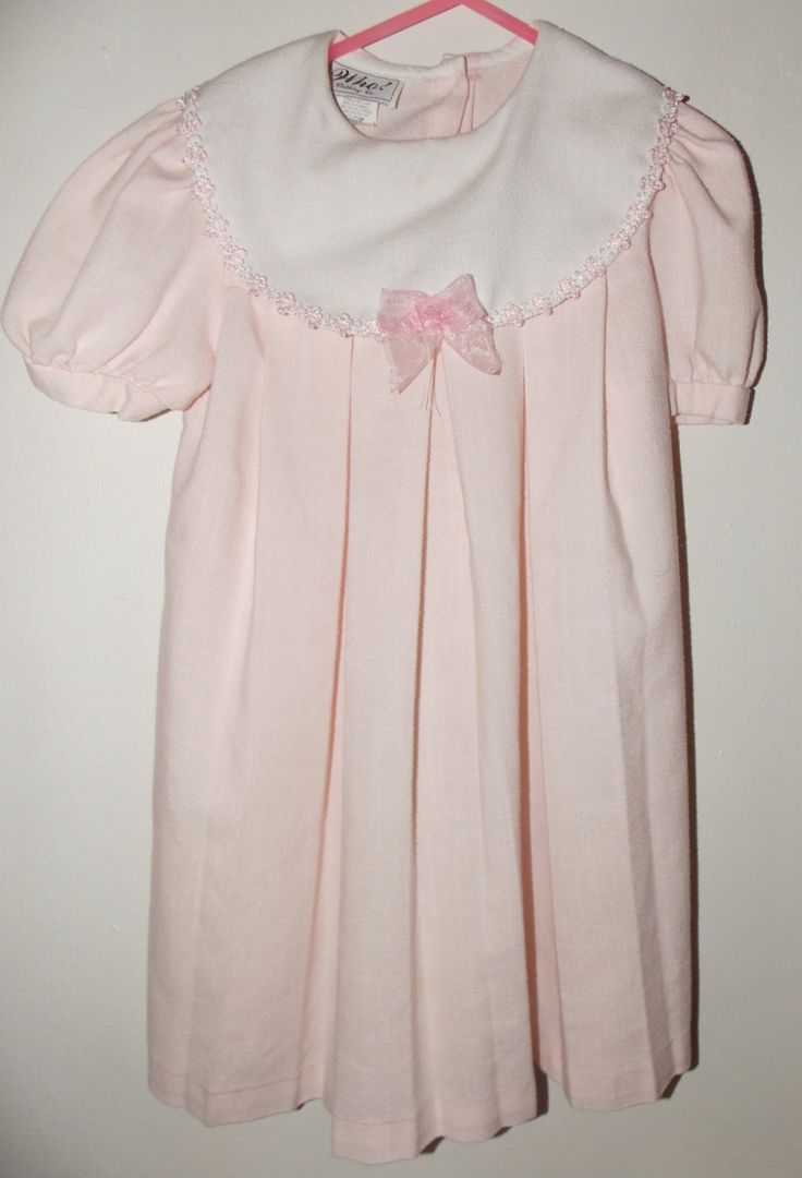 Who! clothing co. light pink dress size 6 by RETROMODERNStore on Etsy