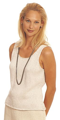 17 Best ideas about Knitted Tank Top on Pinterest Summer ...