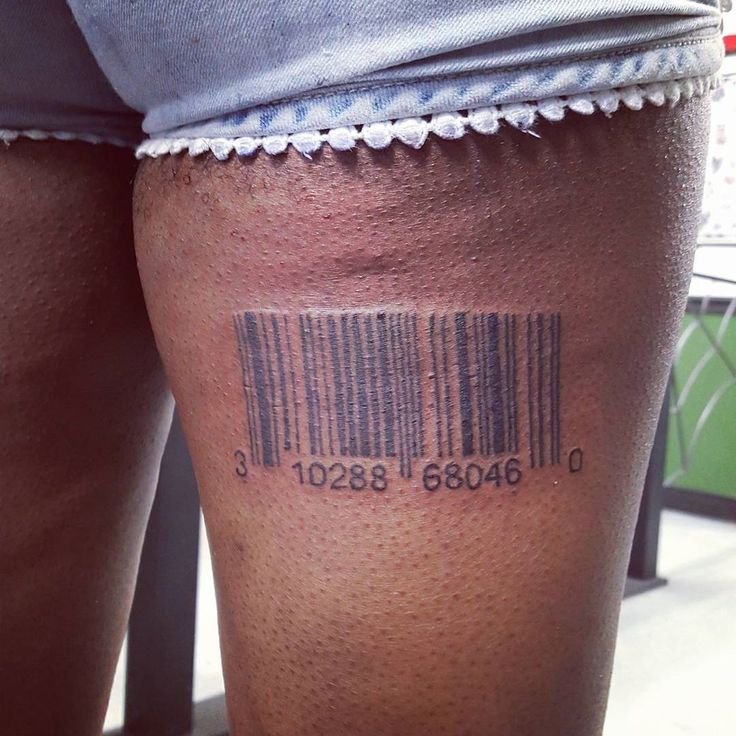 Best 25+ Barcode Tattoo Ideas Only On Pinterest