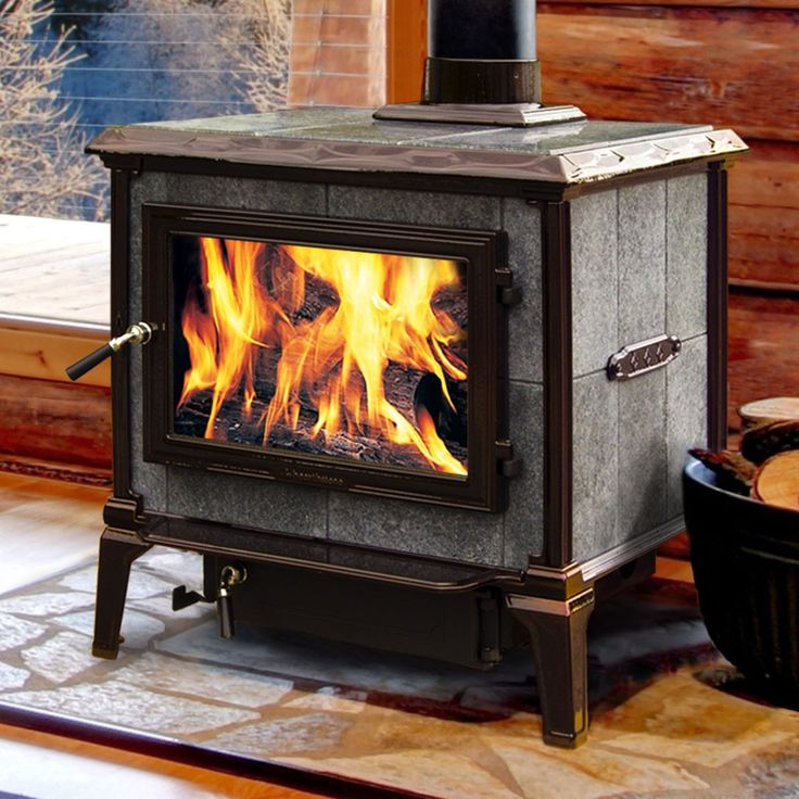 It's important to realize that not all soapstone wood stoves have the same amount of stone; they are often made with a combination of cast iron or steel and soapstone. Description from unitedfireplaceandstove.com. I searched for this on bing.com/images