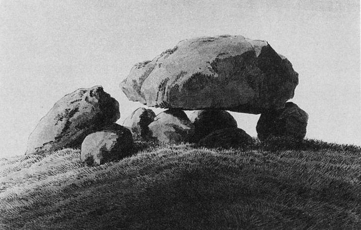 Caspar David Friedrich - Megalithic-grave