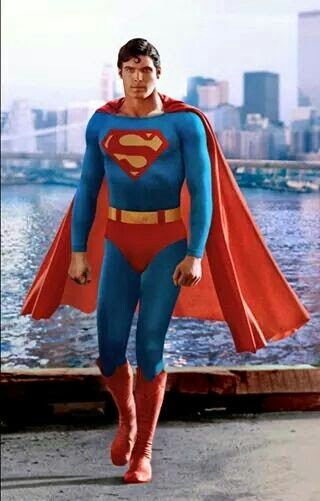 The Late Great Christopher Reeve as Superman. 1978.