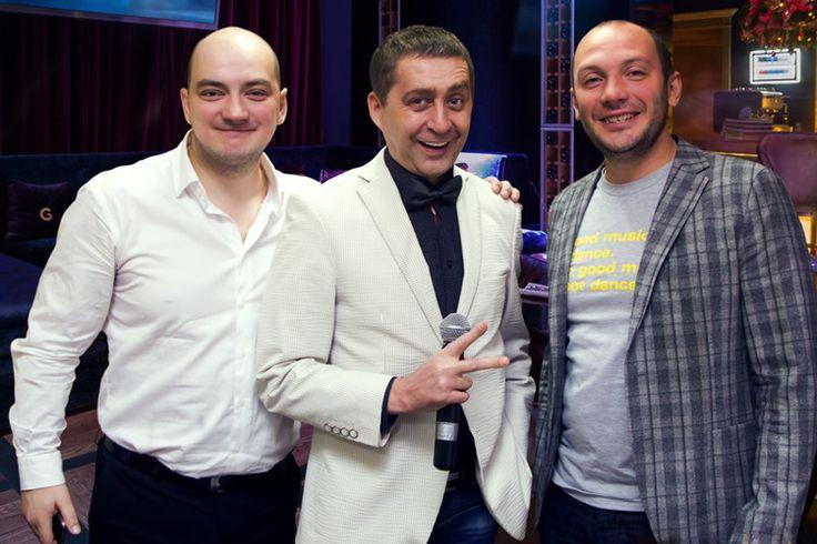 Ведущий Валерий Чигинцев и Сёстры Зайцевы, Лёша и Рома!