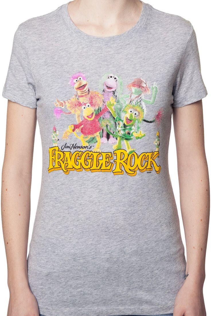 Ladies fraggle rock cast shirt