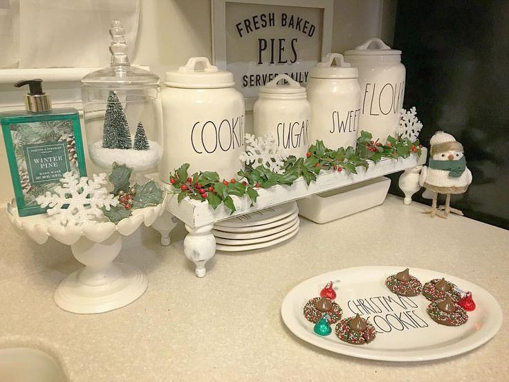 Home Sweet Homedecor Rae Dunn Canisters Christmas