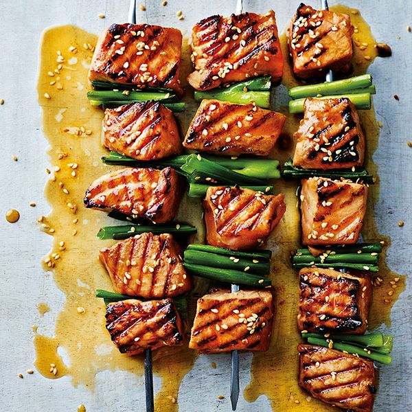 We love a good wasabi hit, and there's no denying the effect it can have on the respiratory system. The flavours of salmon and wasabi are a perfect match. Fuse them together in this healthy, midweek recipe.Serves 1