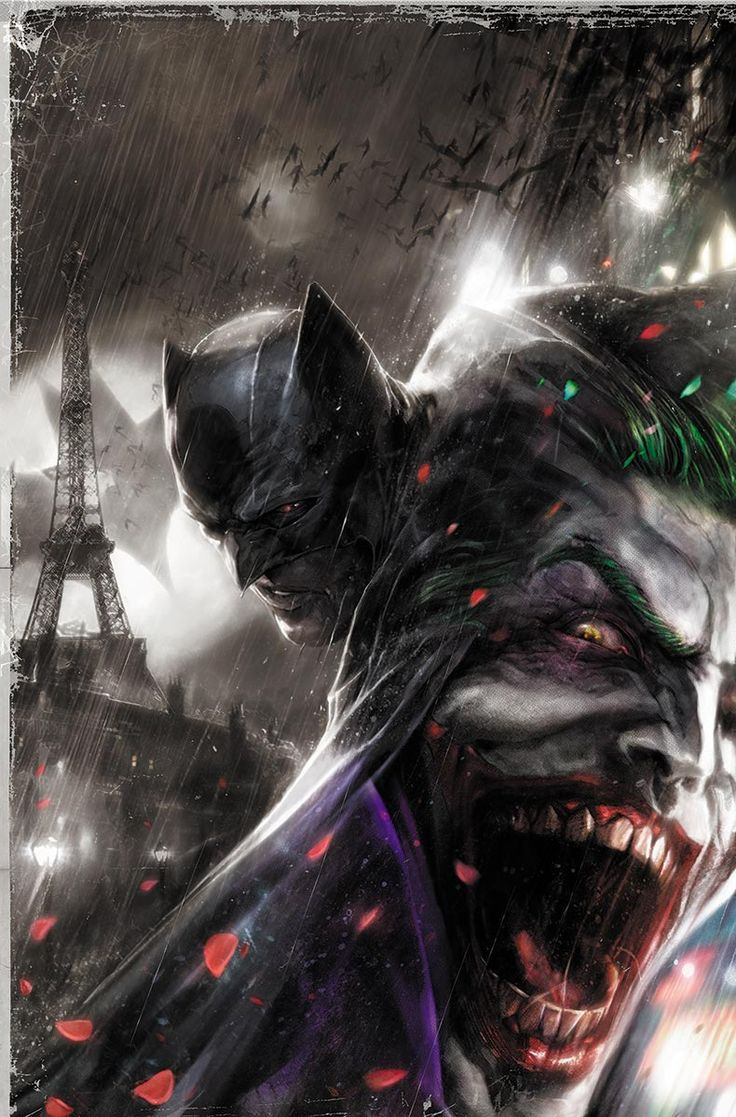 "redcell6: ""BATMAN/JOKER illustrated by Diego Latorre """