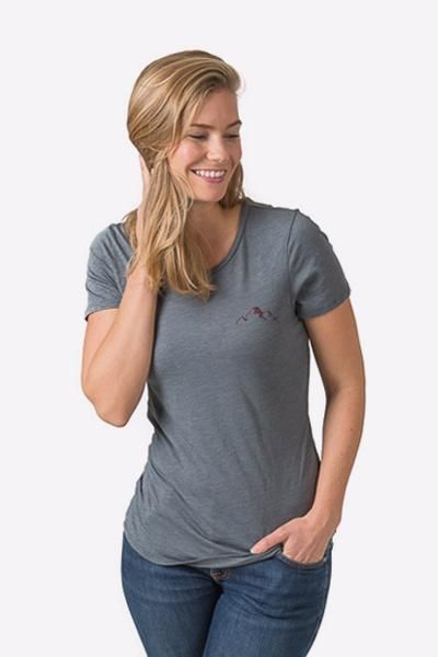 The Ivey t-shirt is ultra comfy and has a fit that is flattering and easy.