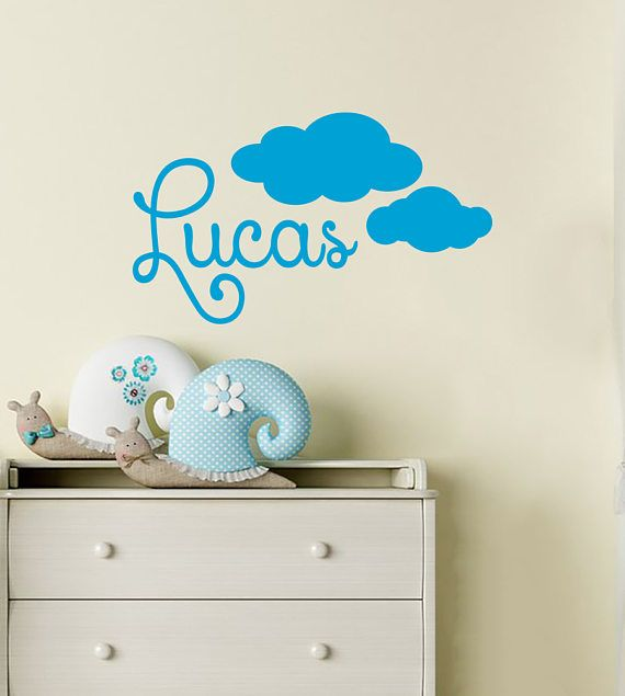 Best Name Wall Decals Images On Pinterest - Nursery wall decals boy