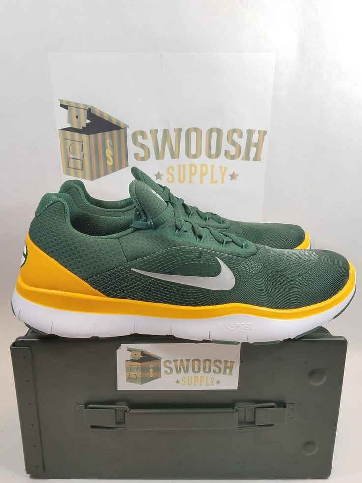 Nike Green Bay Packers Free Trainer V7 Ltd Edition Shoes AA1948-301 Size 13 Mens #Nike #AthleticSneakers
