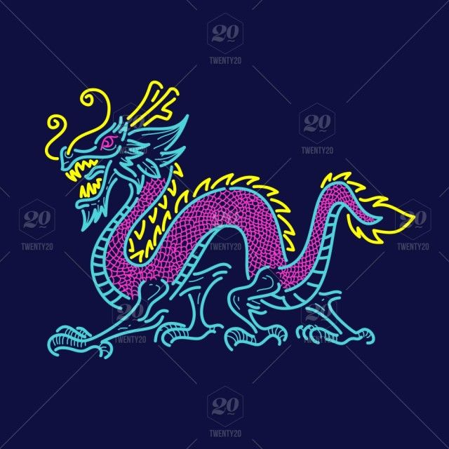 Red Dragon In Chinese Paper Men/'s Tee Image by Shutterstock