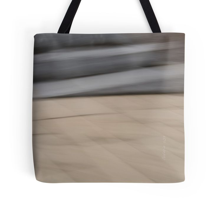 Abstract Wave tote bag by Galerie 503