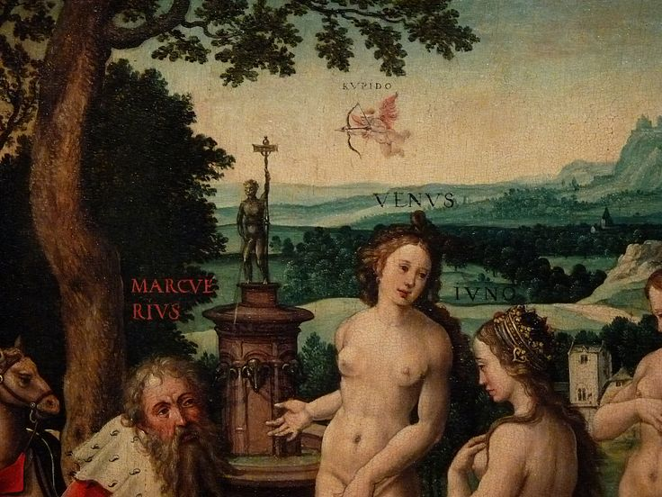 "COECKE VAN AELST Pieter,1530-40 - Le Songe de Pâris (Louvre) - Detail 13  -  TAGS / art painter peintre details détail détails painting paintings peintures tableaux Museum Paris France ""Dutch paintings"" ""peintres hollandais"" ""Dutch painters"" rêve dream love amour Venus Cupidon Cupid paon peacock animaux animal animals man men nu nude naked ""naked woman"" ""naked women"" nudity nudité bare ""femme nue"" ""nude female"" Mercure Junon ""Pâris endormi"" sleep asleep trees tree arbre nature"