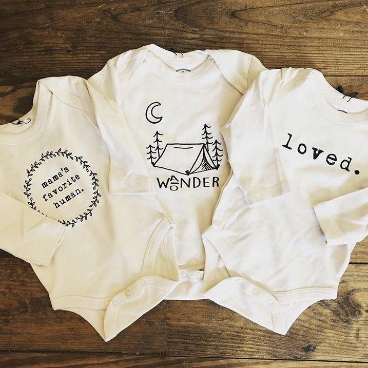Organic gender neutral baby and toddler clothing, organic long sleeve tee, organ…