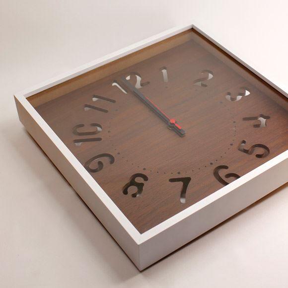 電波時計 『HOLE CLOCK -電波時計-』 時計 壁掛... プリズム【ポンパレモール】
