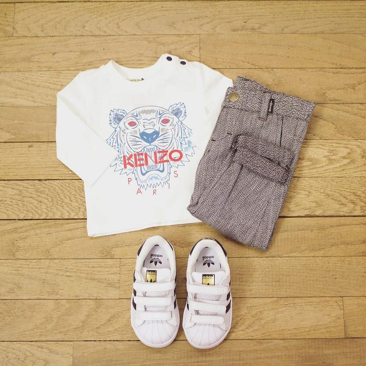 Check out this #OOTD for your little boy!  . . . . #ootd #outfit #boy #kid #maralexkids #2016 #french #instagood #instacool #instadaily #instacute #love #happy #igers #kenzo #stansmith #addidas
