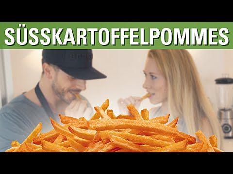 Knusprige Ofen-Süßkartoffel-Pommes feat. Mara | Simon Teichmann