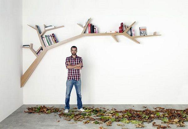 10 Brilliant Tree Bookshelves Ideas