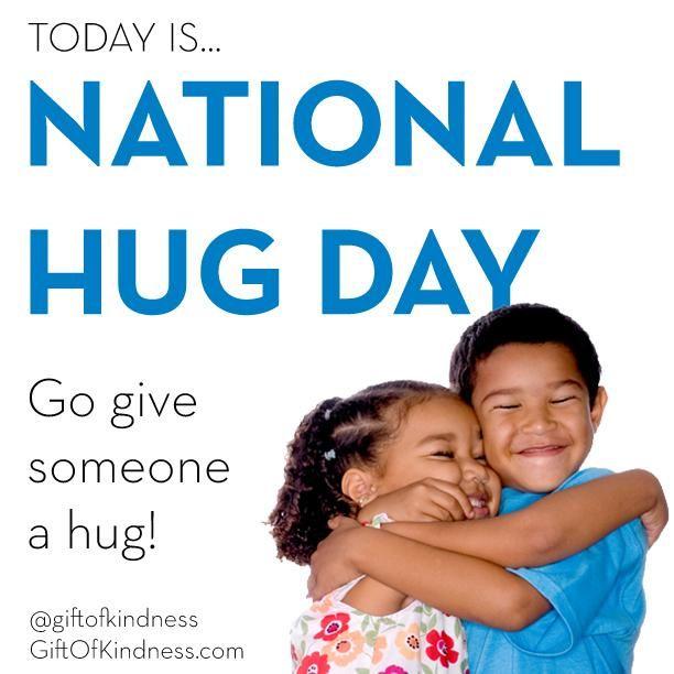 National hug a redhead day — 12